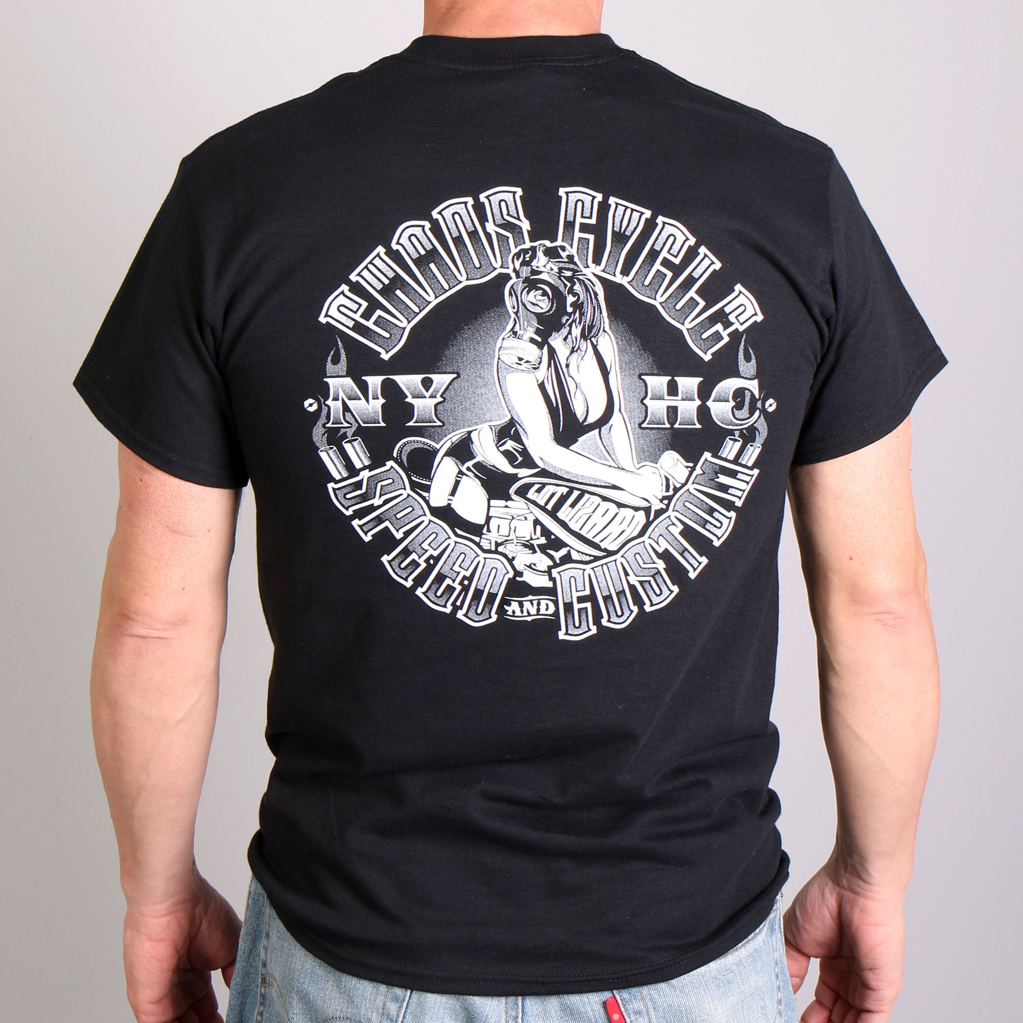 Official Chaos Cycle Pin Up T-Shirt
