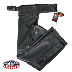 Hot Leathers Ladies USA MADE Leather Chaps