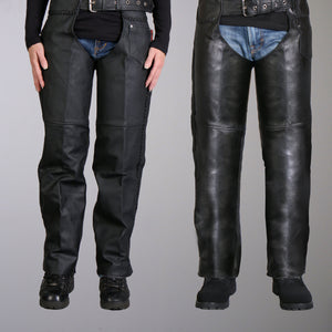 Hot Leathers Heavyweight Braided Leather Chaps