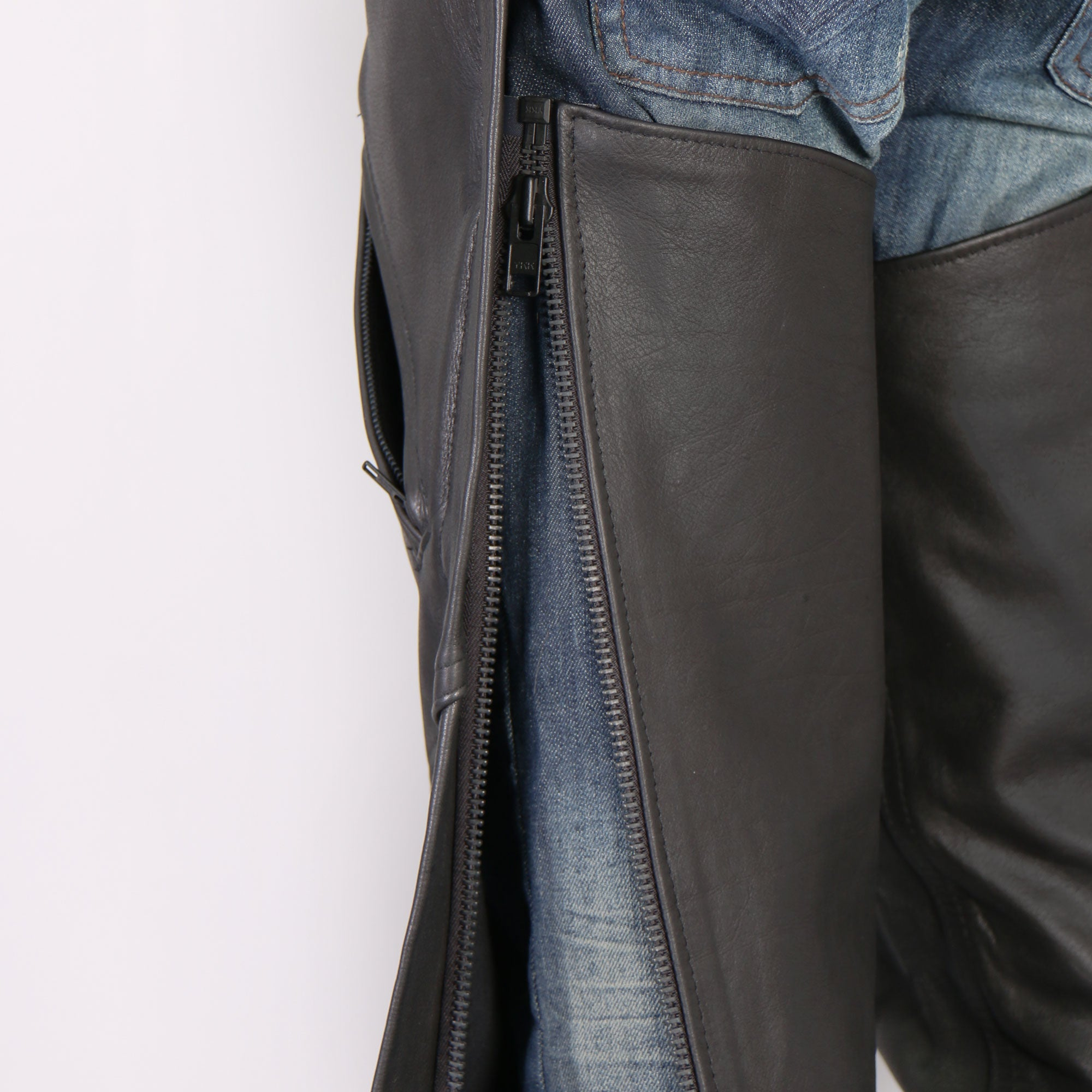Hot Leathers USA Made Leather Chaps for Men