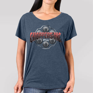 Official Billy Lane's Choppers Inc Revolver Ladies T-Shirt