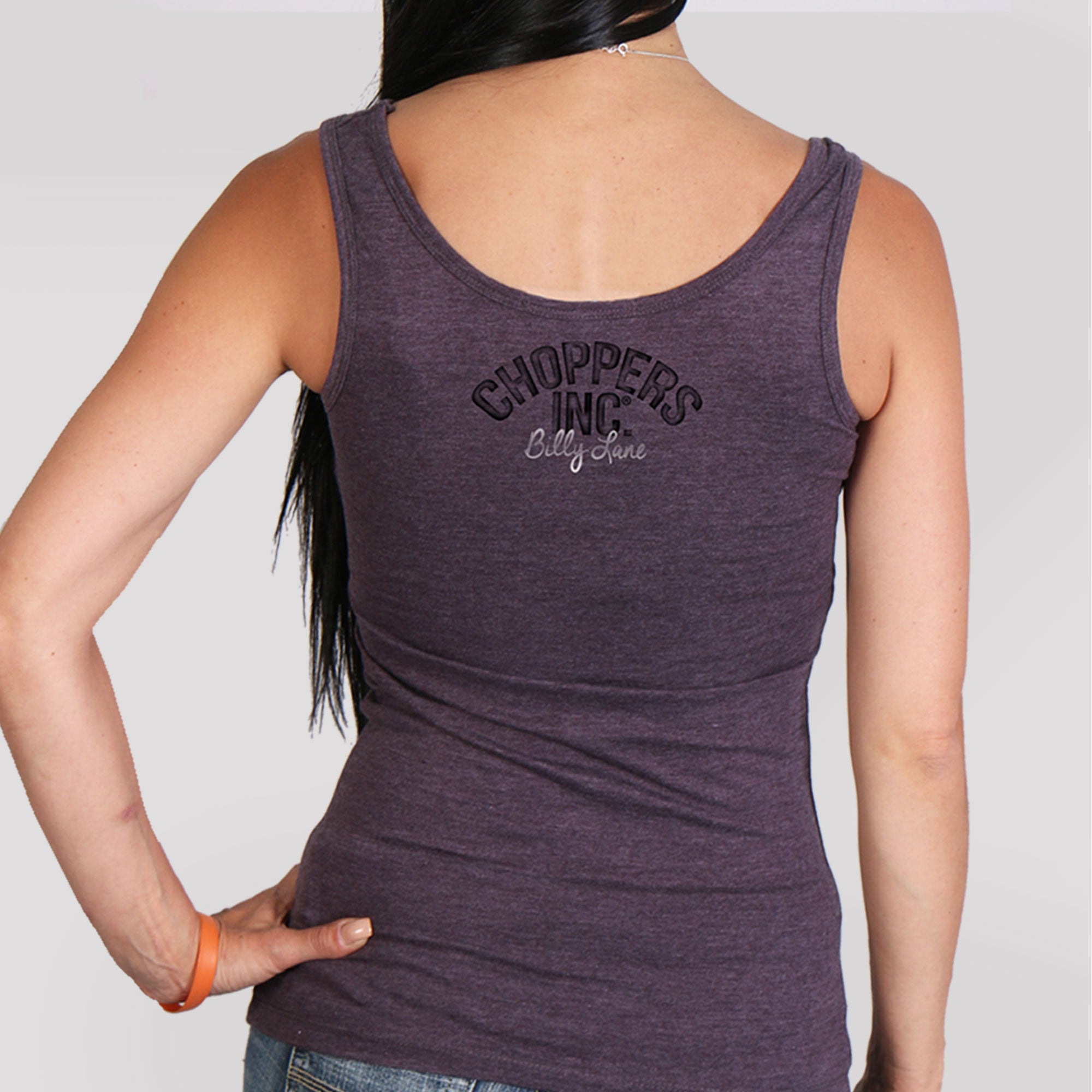 Official Billy Lane's Choppers Inc Classic Pinup Ladies Tank Top