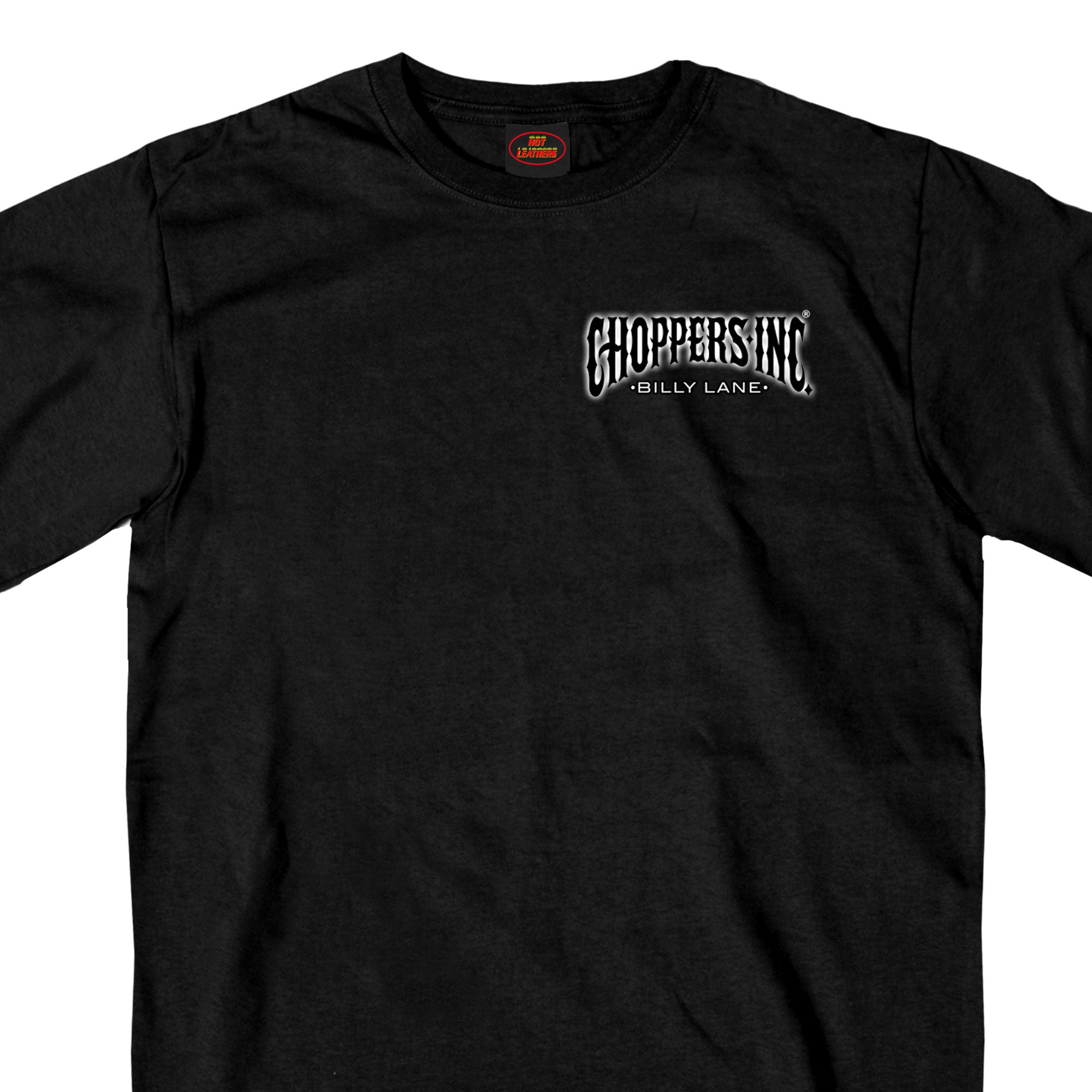 Official Billy Lane's Choppers Inc Welder Two Sided T-Shirt