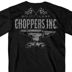 Official Billy Lane's Choppers Inc Anvil T-Shirt
