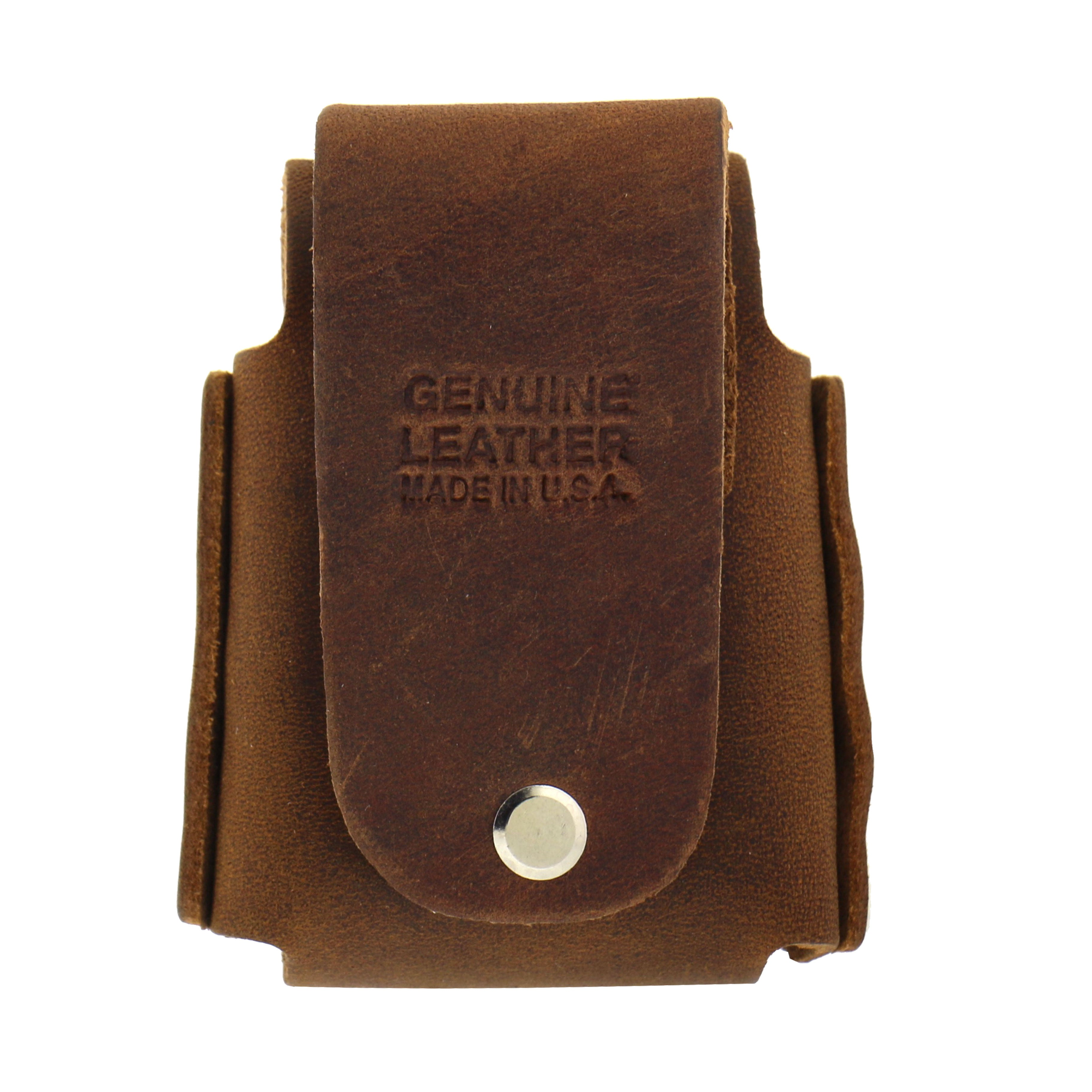 Hot Leathers Zippo Case with Concho