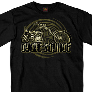 Official Cycle Source Magazine Chopper T-Shirt