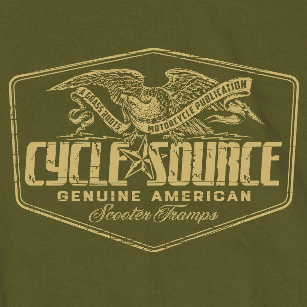 Official Cycle Source Magazine Eagle T-Shirt