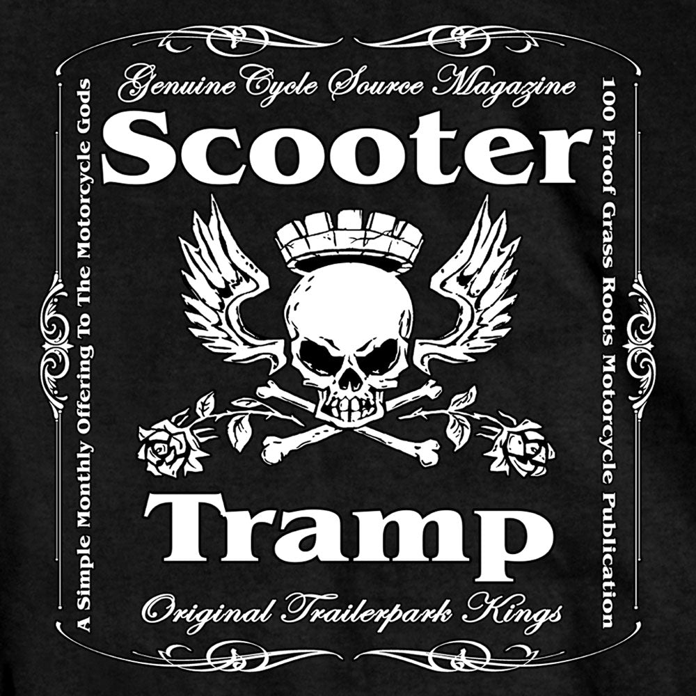 Official Cycle Source Magazine Scooter Tramp