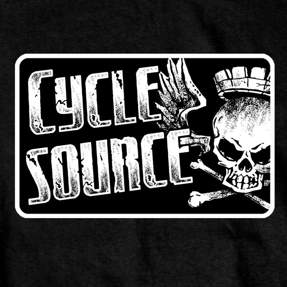 Official Cycle Source Logo Black T-Shirt