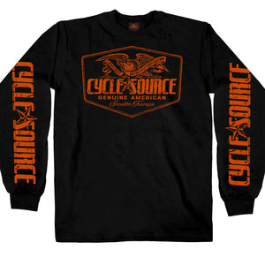 Official Cycle Source Magazine Eagle Long Sleeve
