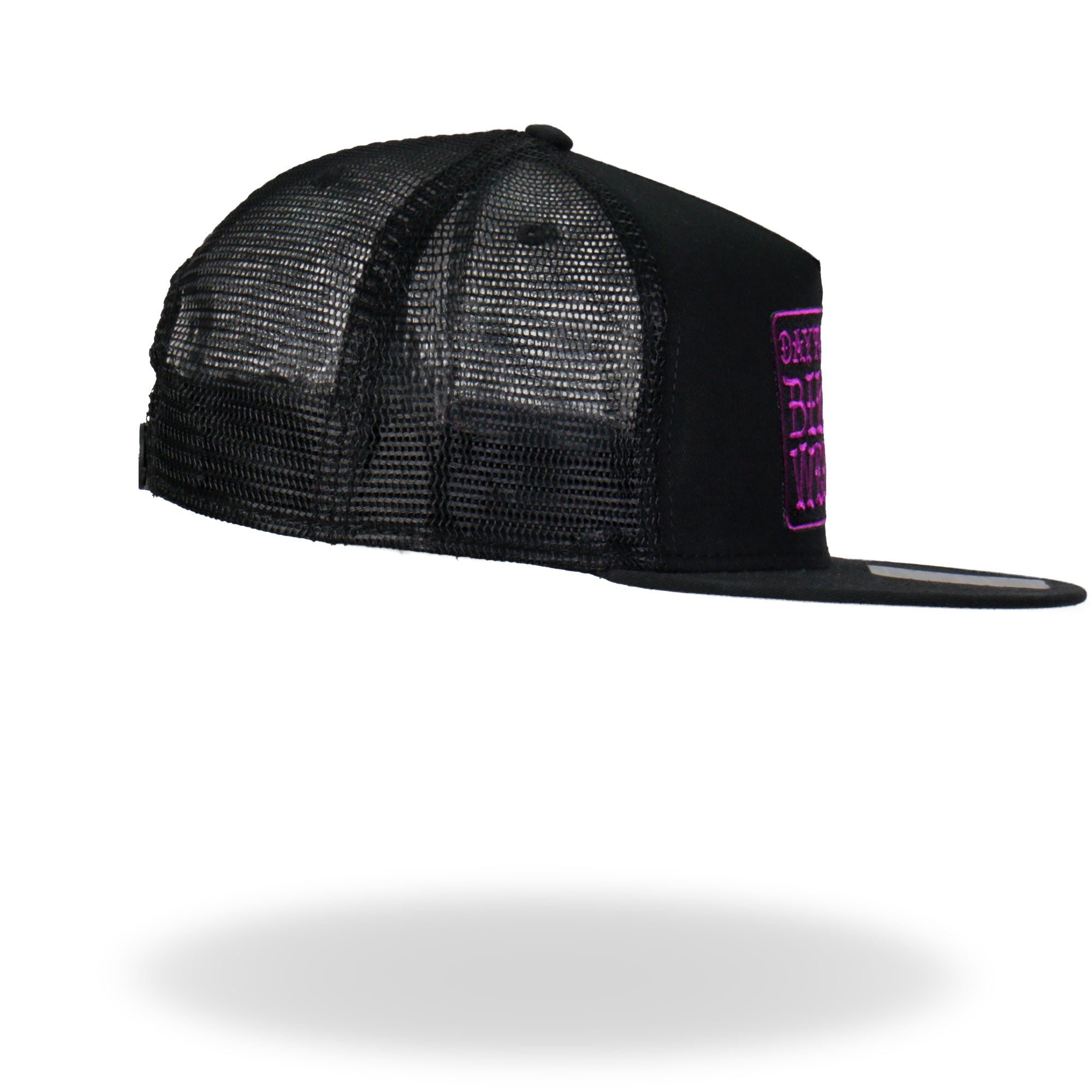 Official Daytona Beach Bike Week Poison Label Purple Snapback Hat