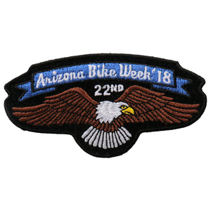 Official 2018 Arizona Bike Week Event Patch