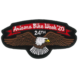 Official 2020 Arizona Bike Week Logo Patch