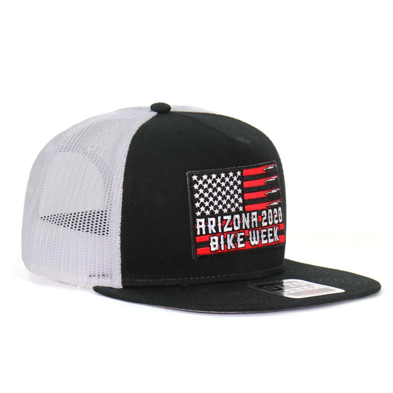 Official 2020 Arizona Bike Week Poison Label Red Hat