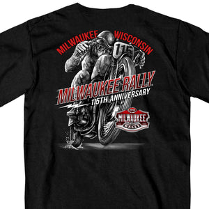 Official 2018 Milwaukee Rally Solo Racer T-Shirt