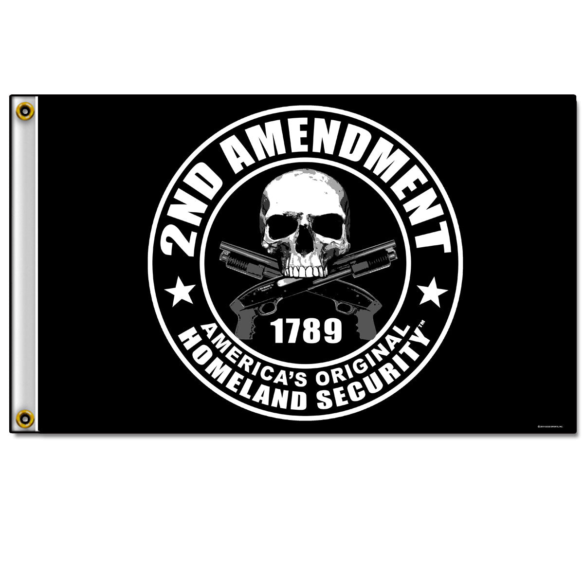 Hot Leathers 2nd Amendment Flag