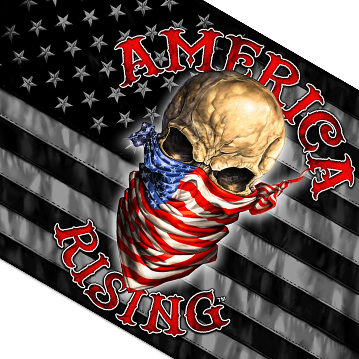 Hot Leathers America Rising Flag