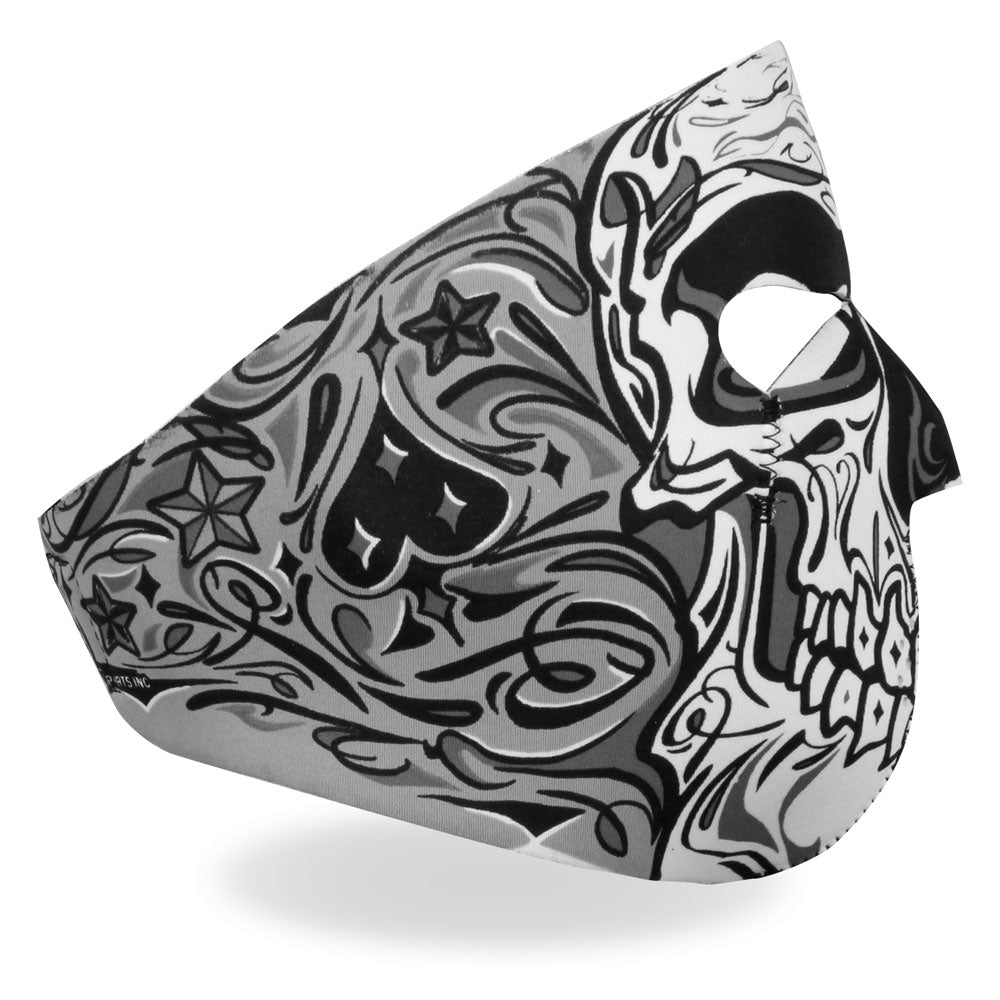 Hot Leathers Sugar Skull Face Mask