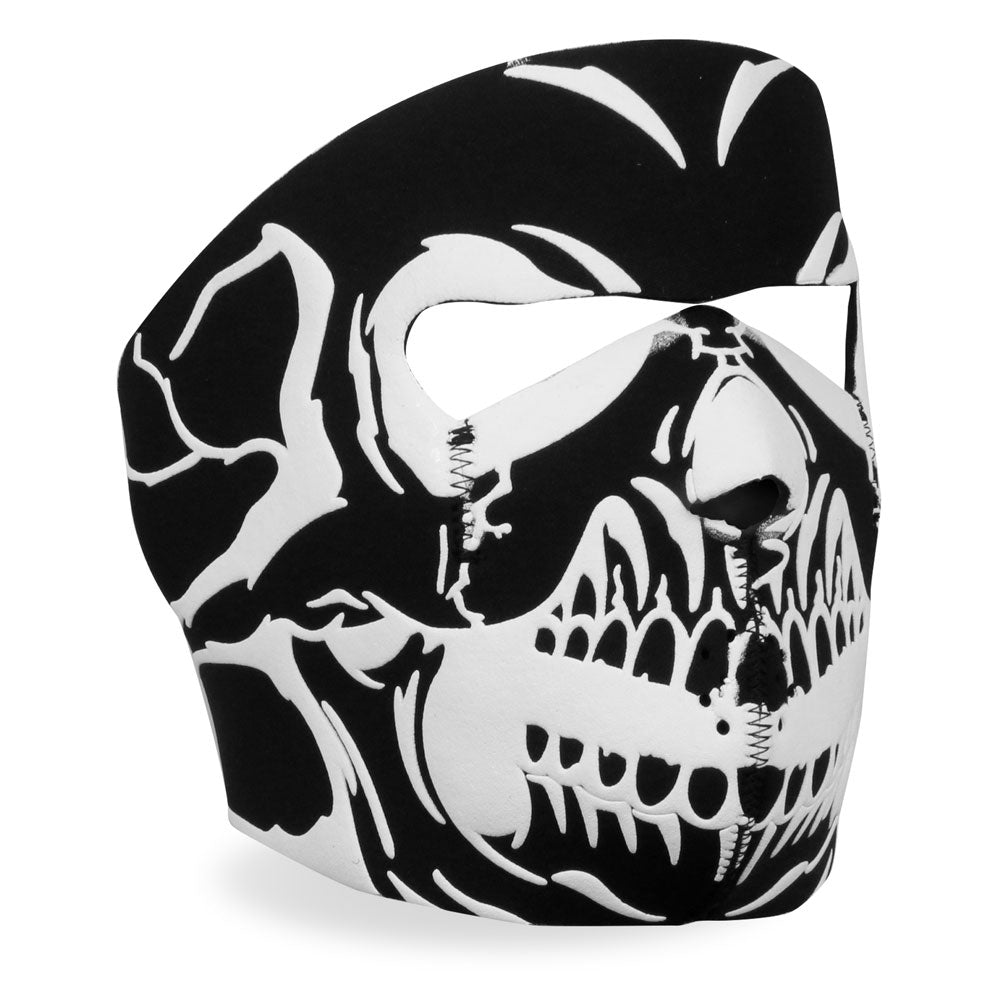 Hot Leathers Face Mask Puff Ink Skull