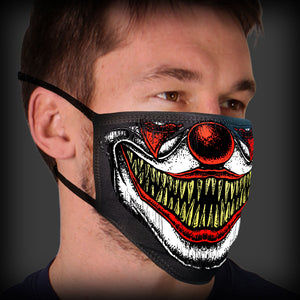 Hot Leathers Clown Teeth Face Mask