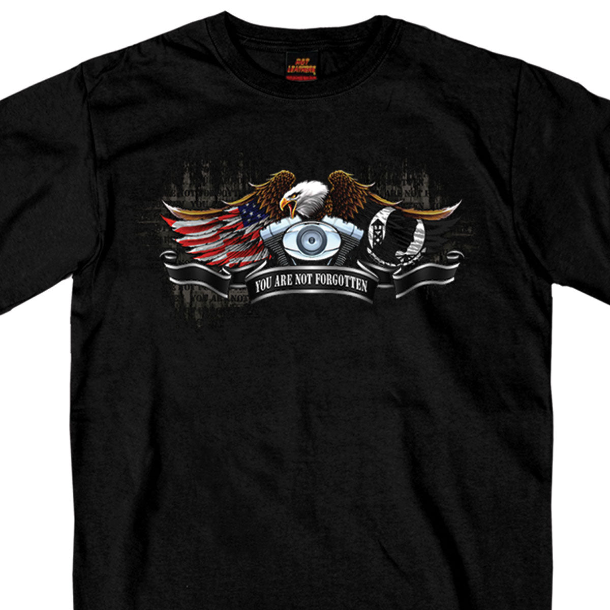 Hot Leathers All Gave Some POW Eagle T-Shirt