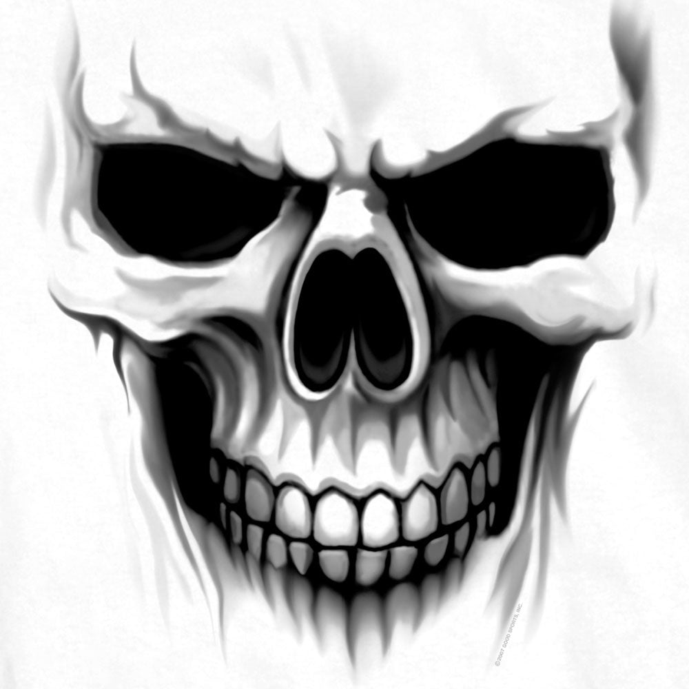 Hot Leathers Ghost Skull Double Sided T-shirt