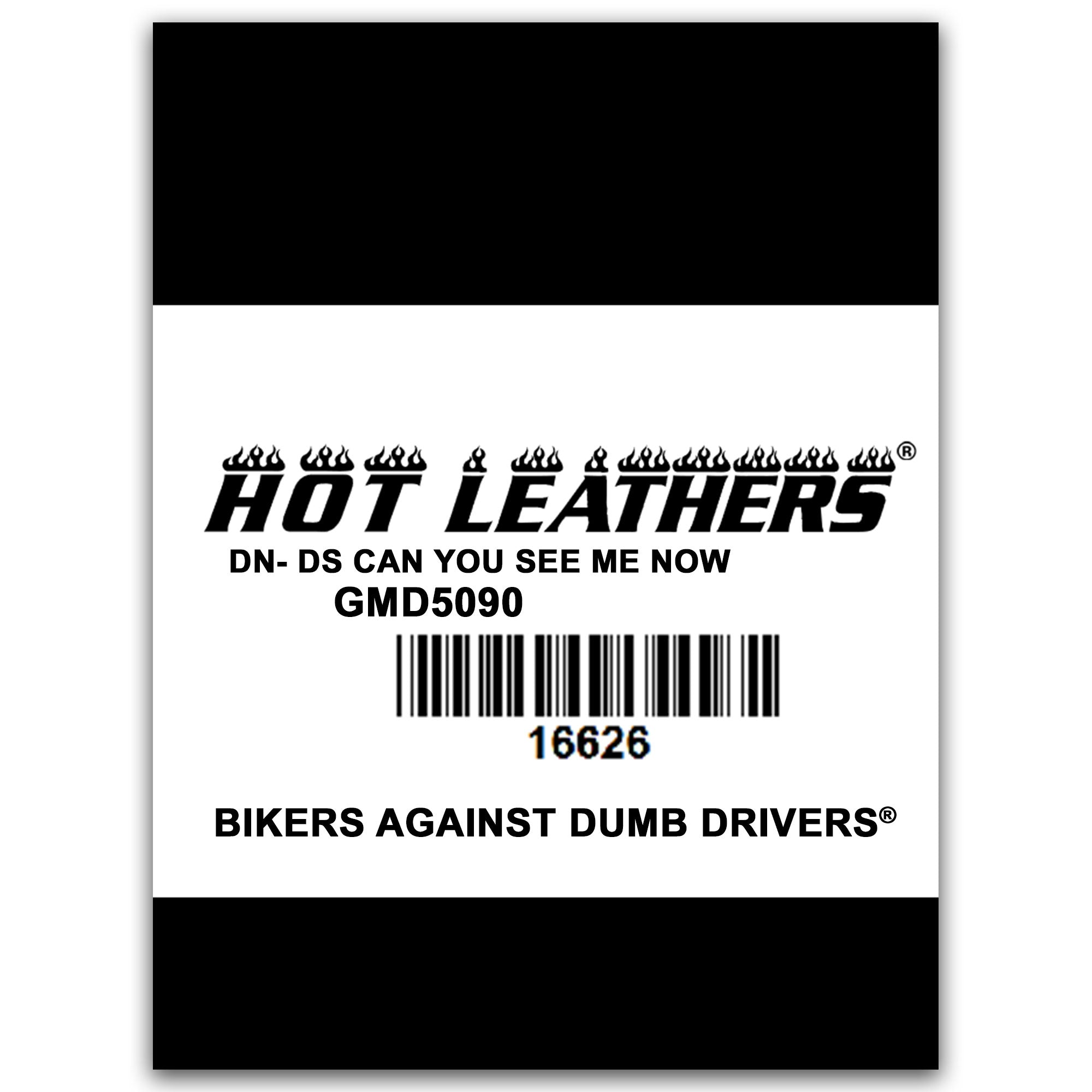 Hot Leathers Can You See Me Now Sleeveless Denim Shirt