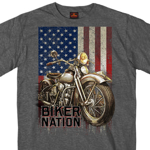 Hot Leathers Classic Cycle Flag T-Shirt