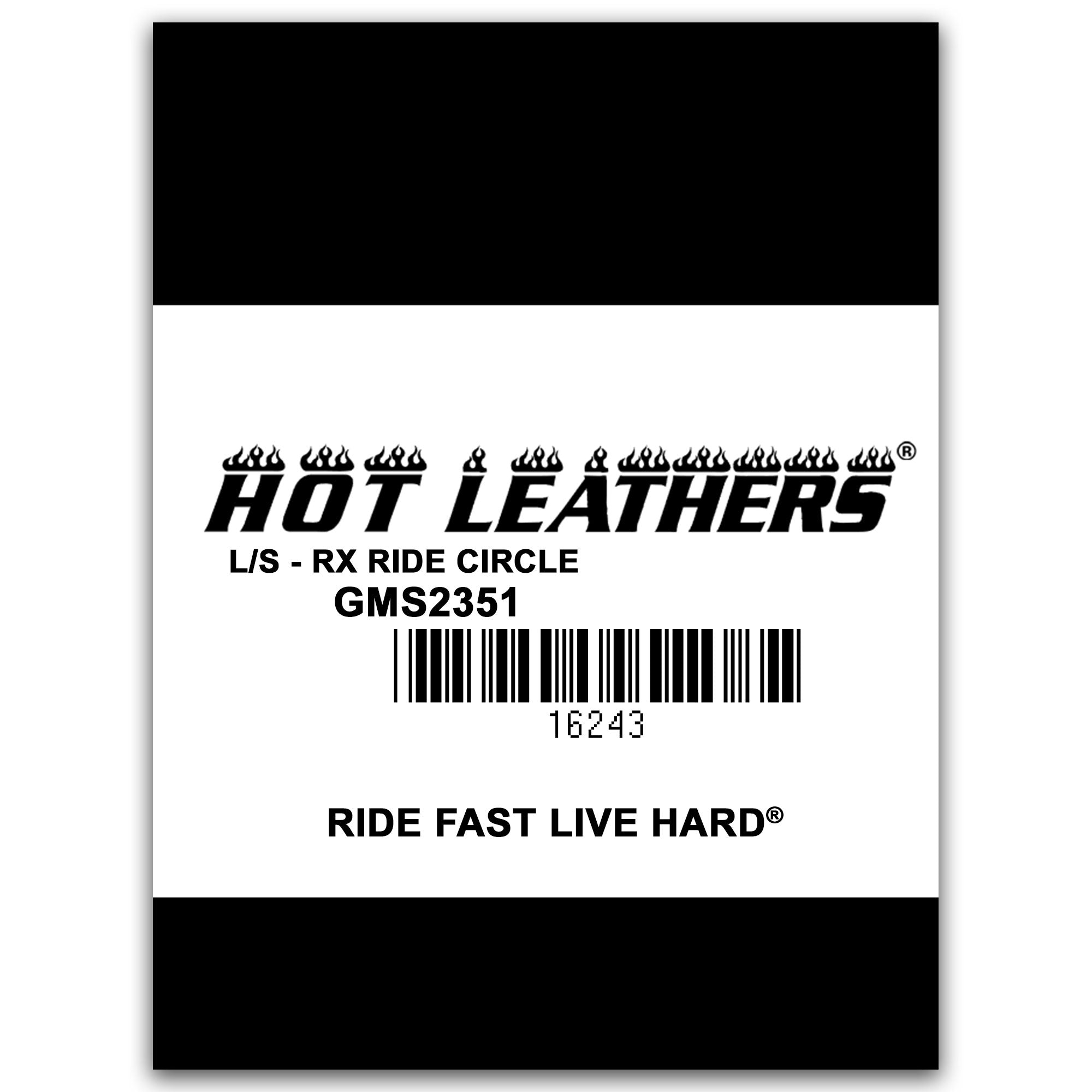Hot Leathers Charcoal RX Ride Circle Shirt