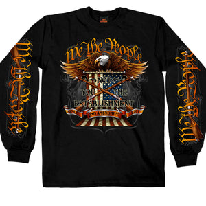 Hot Leathers We The People Long Sleeve Shirt