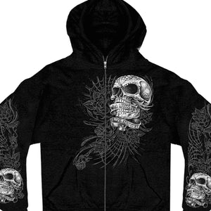 Hot Leathers Sweet Demise Zipper Hoodie