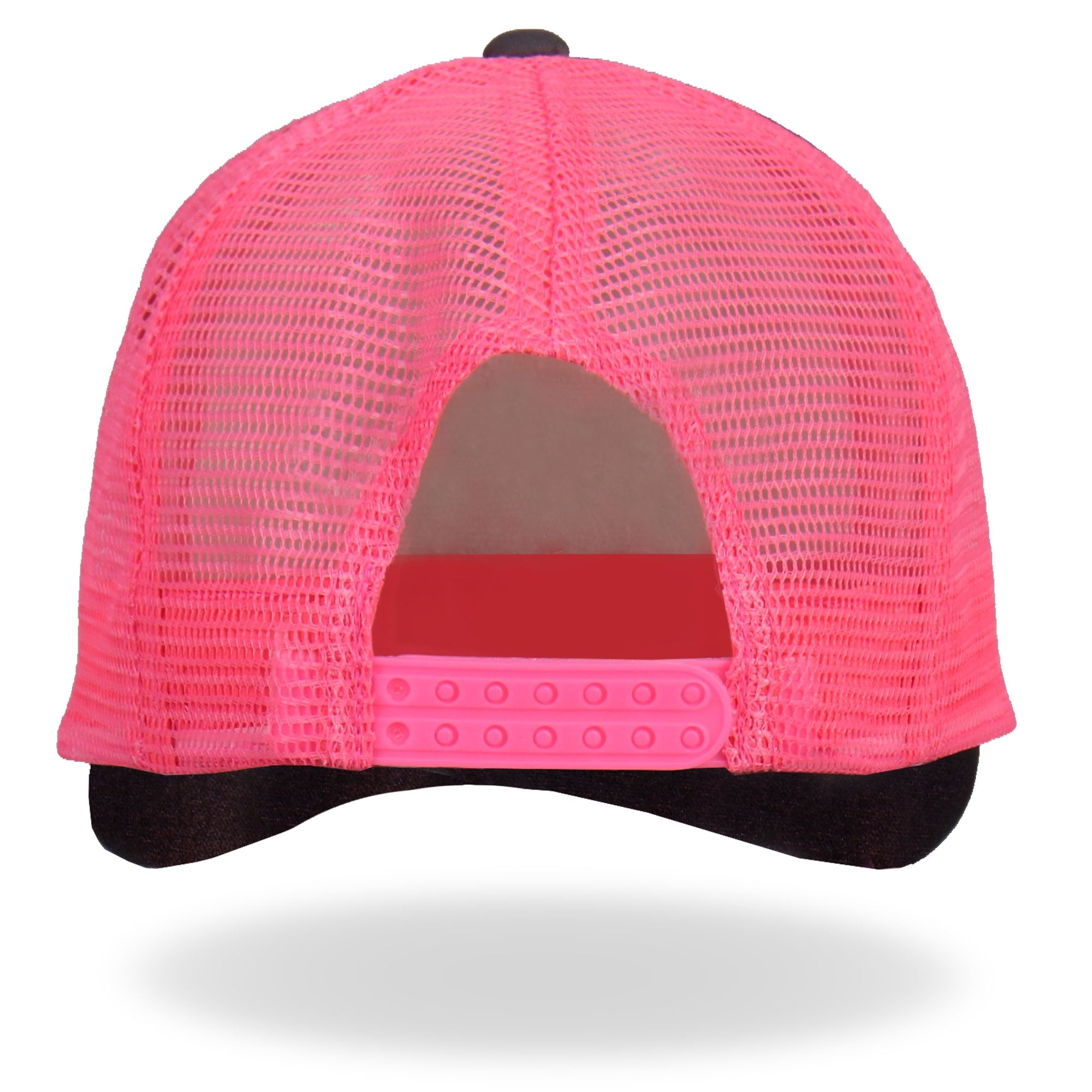 Hot Leathers Middle Finger Pink Trucker Hat