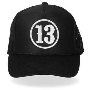 Hot Leathers 13 Trucker Hat