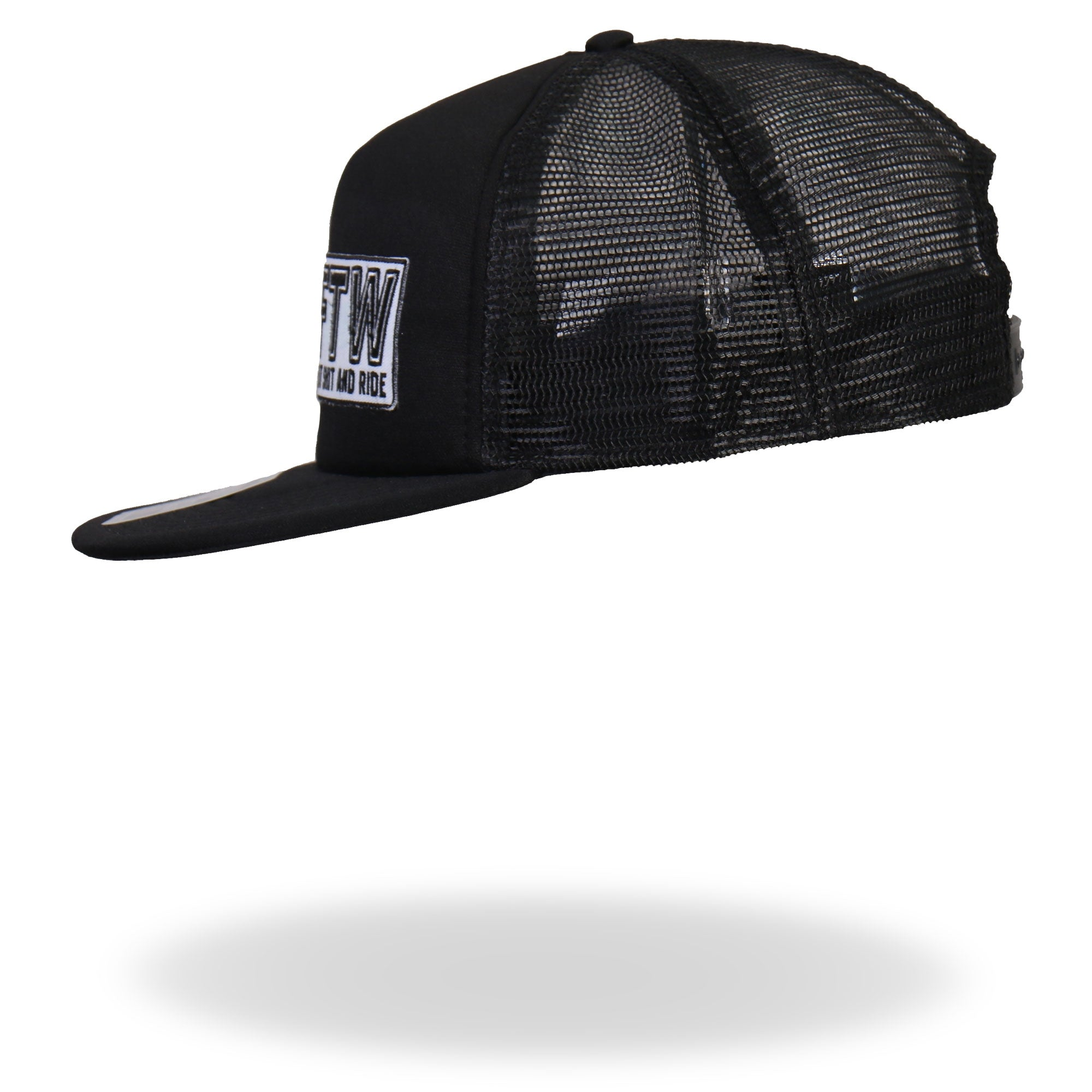 Hot Leathers FTW All Black Snap Back Hat