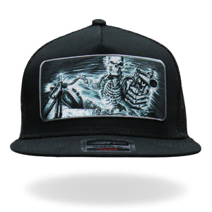 Hot Leathers Assassin Rider Snap Back Hat