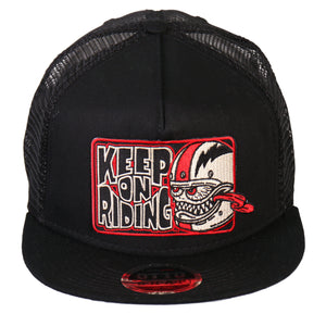 Hot Leathers Bobber Monster Snap Back Ball Cap