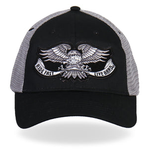 Hot Leathers Eagle Tattoo Trucker Hat