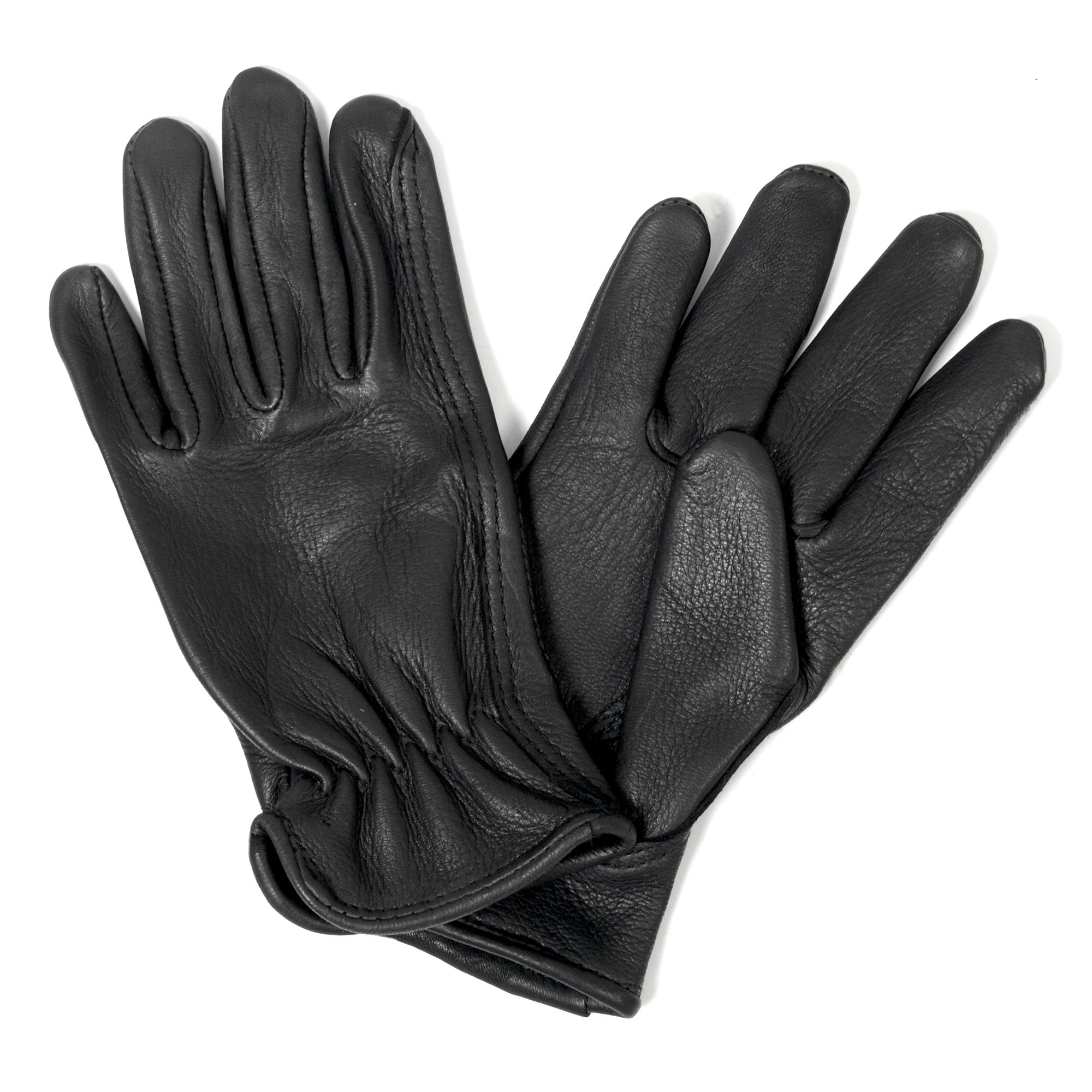 Hot Leathers Classic Deerskin Unlined Driving Glove