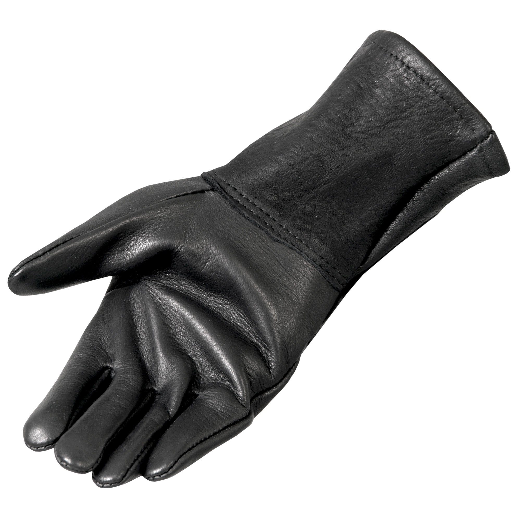 Hot Leathers Classic Deerskin Gauntlet Glove