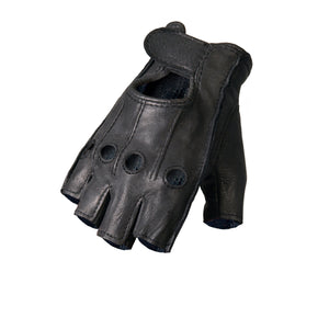 Hot Leathers Deerskin Fingerless Gloves