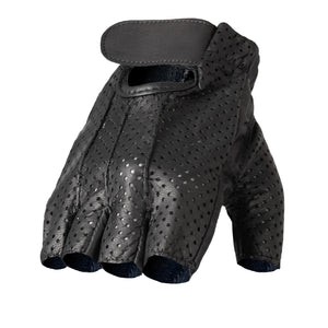 Hot Leathers Leather Fingerless Vented Gloves