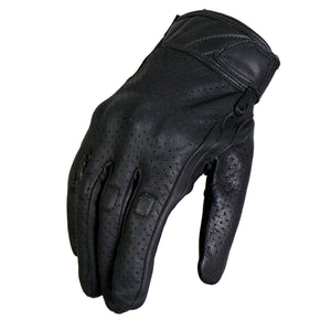 Hot Leathers Vented Knuckle Guard Glove