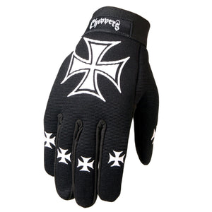Hot Leathers Choppers Mechanics Gloves