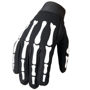 Hot Leathers Skeleton Mechanics Gloves
