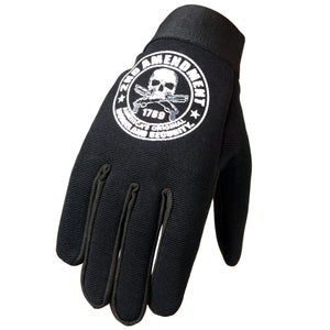 Hot Leathers 2nd Amendment America's Original Homeland Security Mechanics Gloves