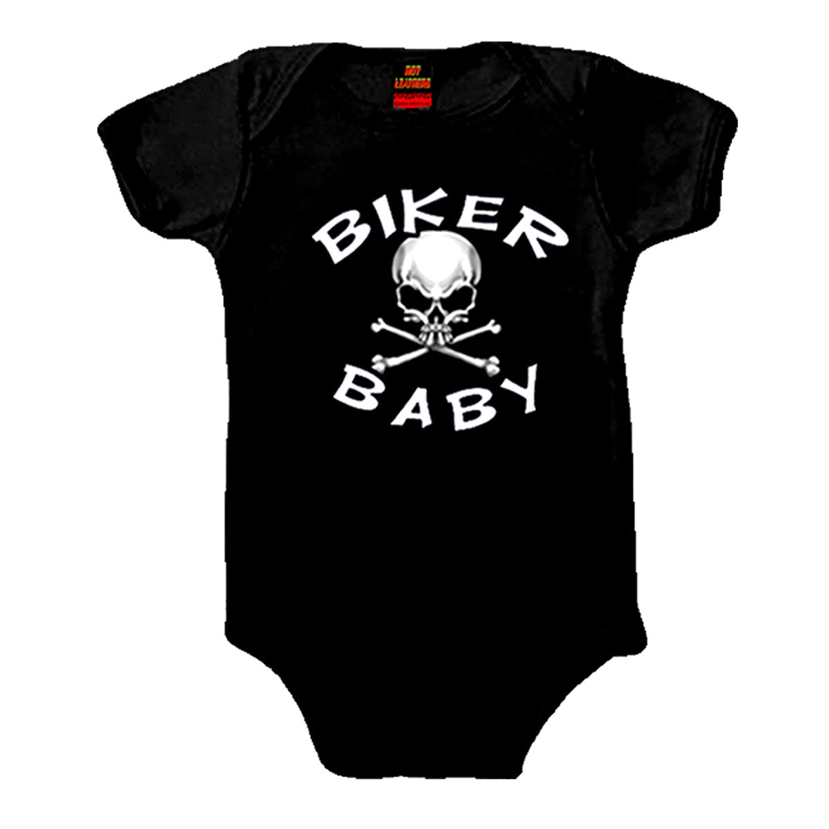 Hot Leathers Biker Baby Skull Bodysuit