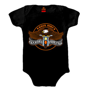 Hot Leathers Cry Hard Kids Bodysuit