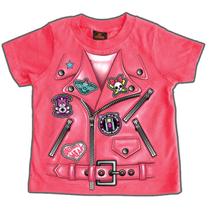 Hot Leathers Girls Leather Jacket Toddler T-Shirt