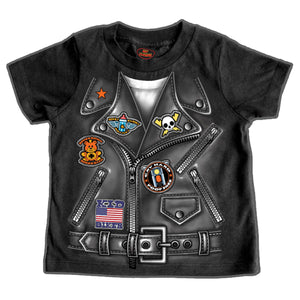 Hot Leathers Boys Leather Jacket Toddler T-Shirt