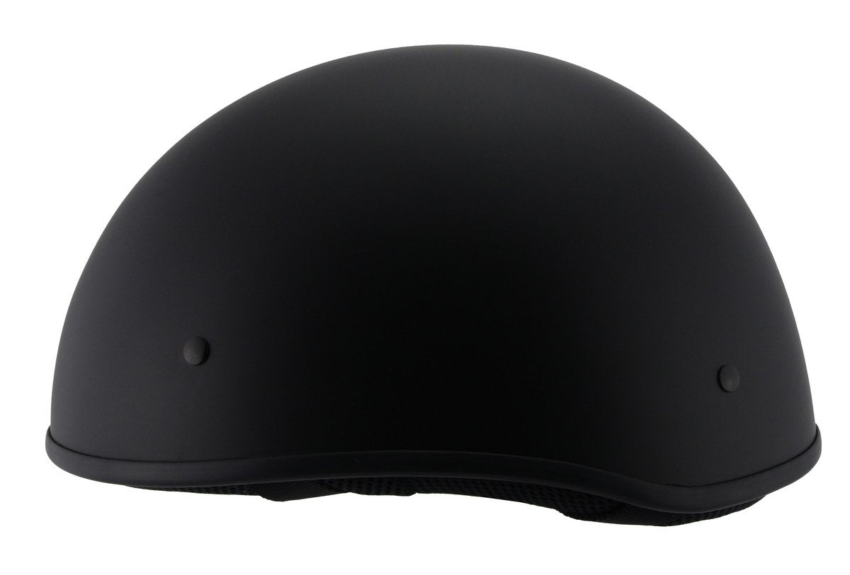 Milwaukee Performance Helmet MPH9710DOT 'Bare Bones' Matte Black Helmet